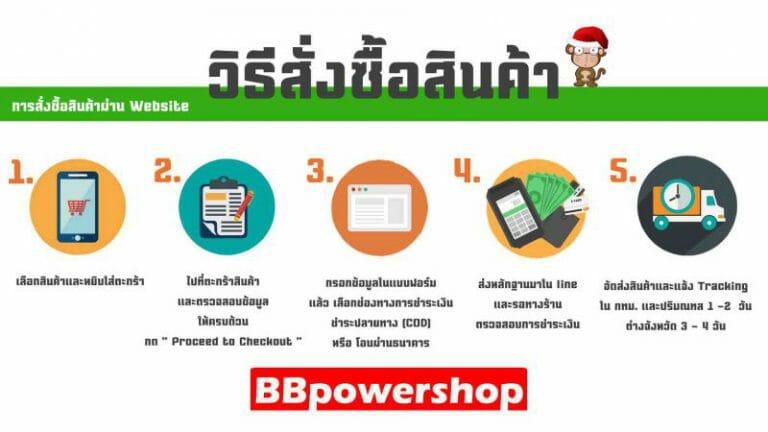 สั่งของผ่านwebBBpowershop