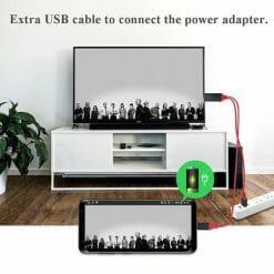 สายต่อทีวี HDTV HDMI รองรับอุปกรณ์ ไอโฟน ไอแพด To HDMI TV Cable-2