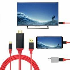 สายต่อทีวี HDTV HDMI รองรับอุปกรณ์ ไอโฟน ไอแพด To HDMI TV Cable-1