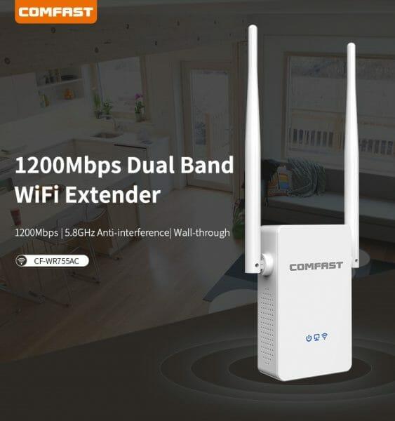 ตัวขยายสัญญาณ WiFi755ac-2